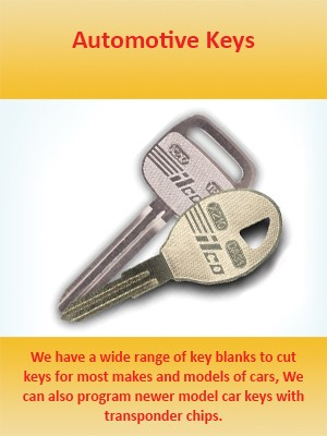 Key Cutting Services in Pickering, Ajax, Whitby and Oshawa